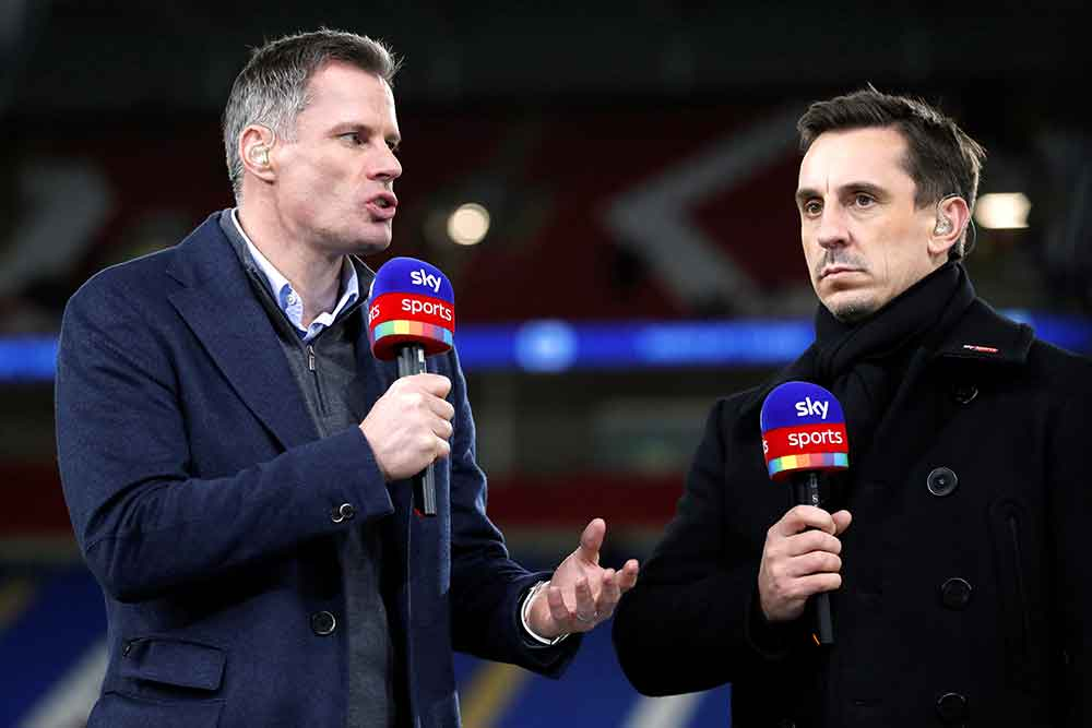 Gary Neville Makes Top Four Claim As He Compares West Ham And Everton